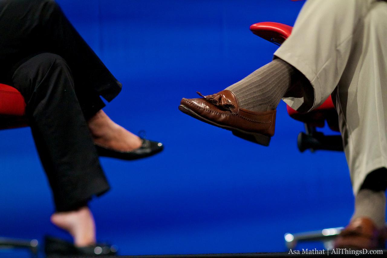 Familiar shoes.