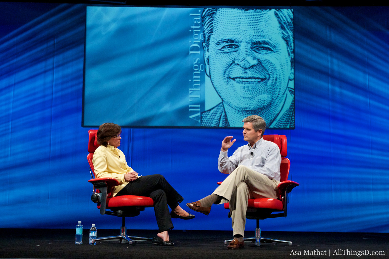Steve Case, interviewed by All Things Digital's Kara Swisher, at D8.