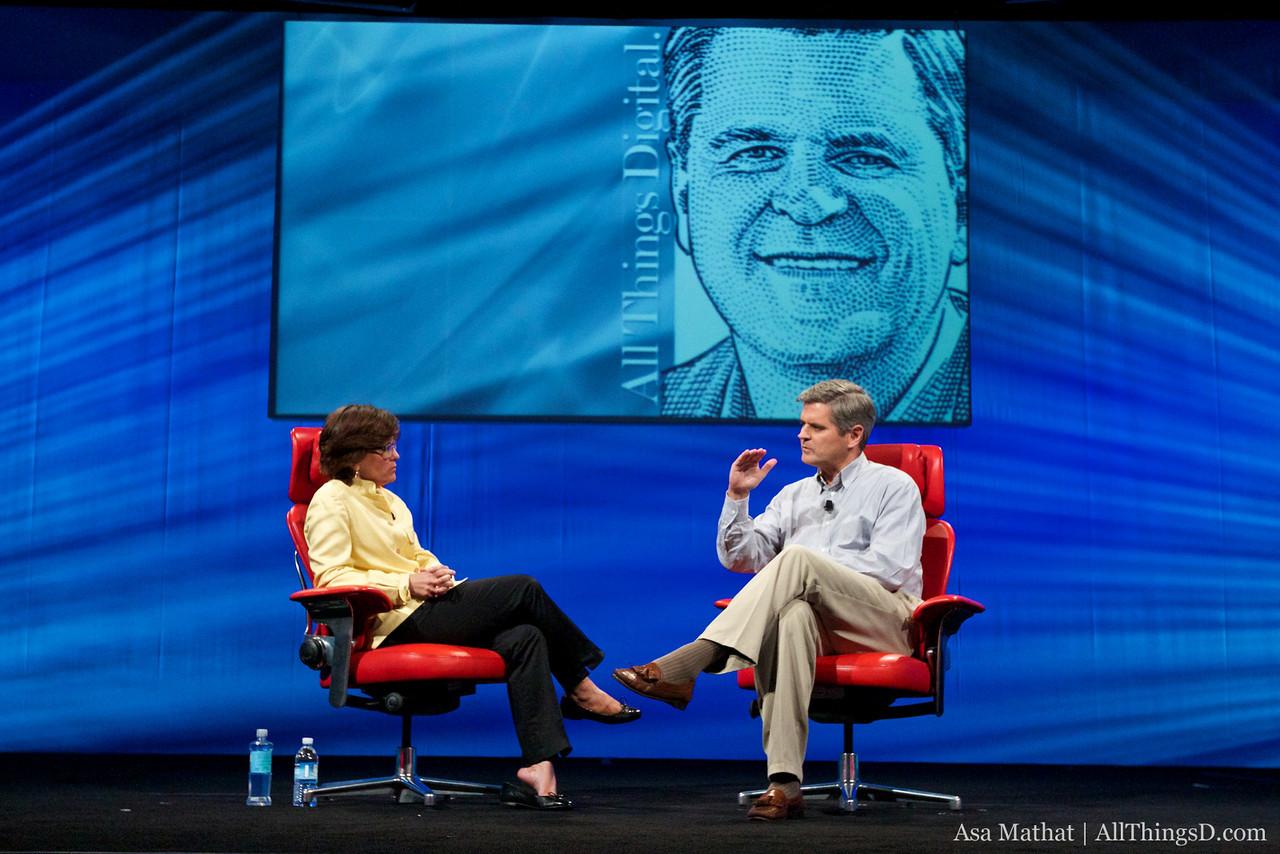Steve Case, interviewed by All Things Digital's Kara Swisher, at D8.