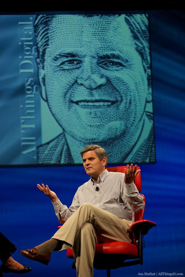 Steve Case at D8.