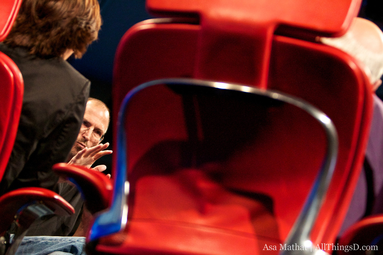 Steve Jobs, interviewed by Kara Swisher and Walt Mossberg.