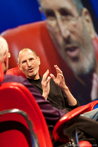 Steve Jobs talks about Apple's decision to not allow Flash on the iPhone and iPad.