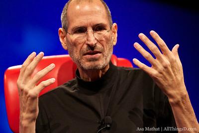 Apple CEO Steve Jobs at D8.