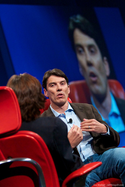 Tim Armstrong, Chairman and CEO of AOL, at the D8 conference.