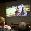 (03/12/18 ASBURNHAM MA) Students of Overlook Middle School watch a video on opiod addiction on Monday about the dangers of opiod abuse. SENTINEL & ENTERPRISE JEFF PORTER