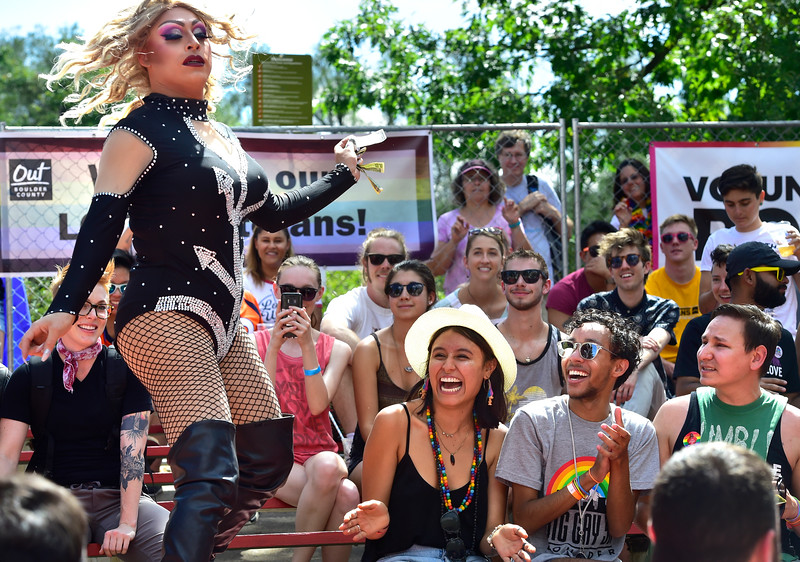 Out Boulder County's annual Boulder Pridefest