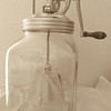 Make a monochromatic photo.<br /> This is a butter churn, one my mother actually used back in the 40s and 50s.