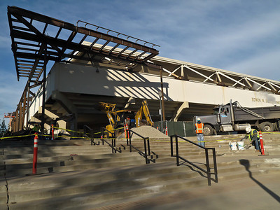 January 19 - Pauley Pavilion construction, UCLA