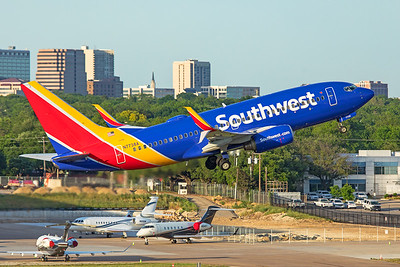 Southwest Airlines Boeing 737-7BD N7738A 5-1-20