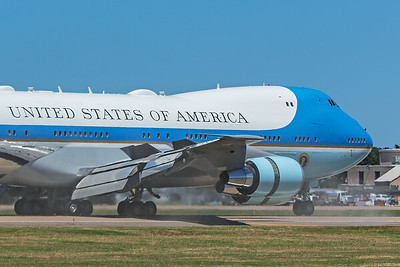 United States Air Force Boeing VC-25A 82-8000 6-11-20