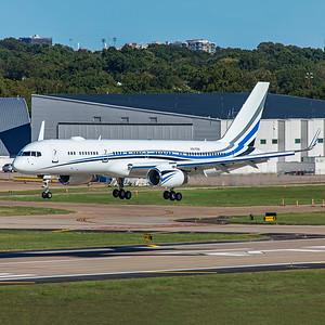MLW Aviation LLC Boeing 757-256 N801DM 9-29-20 2