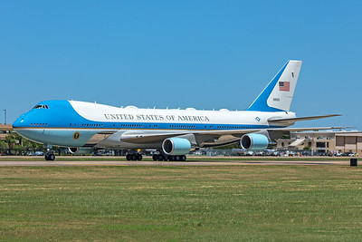 United States Air Force Boeing VC-25A 82-8000 6-11-20 2