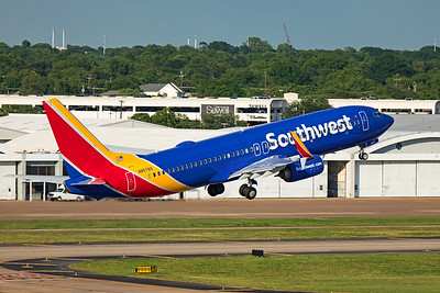 Southwest Airlines Boeing 737-8H4 N8578Q 5-27-20