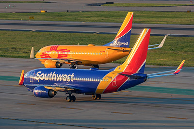 Southwest Airlines Boeing 737-7CT N7829B 8-15-21