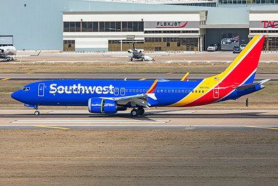 Southwest Airlines Boeing 737-8 MAX 3-5-21 2