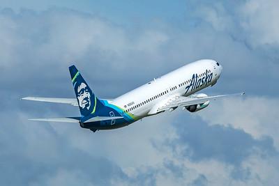 Alaska Airlines Boeing 737-990 N302AS 7-14-21