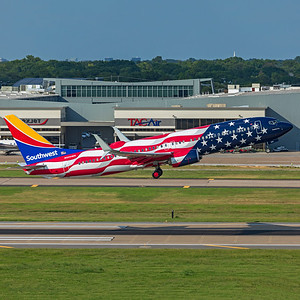 Southwest Airlines Boeing 737-8H4 N500WR 7-22-21