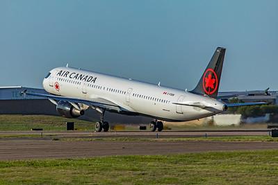 Air Canada Airbus A321-211 C-FGKN 4-7-21