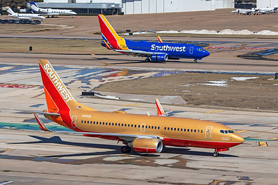 Southwest Airlines Boeing 737-7H4 N714CB 2-20-21 2