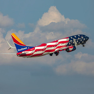 Southwest Airlines Boeing 737-8H4 N500WR 7-22-21 3