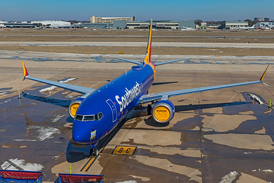 Southwest Airlines Boeing 737-8 MAX N8744B 2-20-21