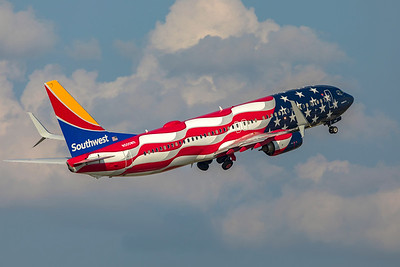 Southwest Airlines Boeing 737-8H4 N500WR 7-22-21 4