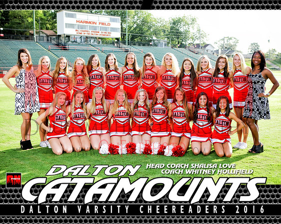 A5 - DALTON  CHEER TEAM 2016