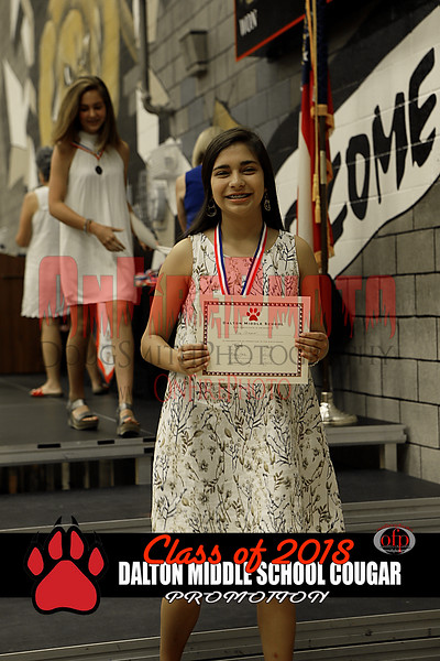 DALTON MIDDLE SCHOOL PROMOTION 2018