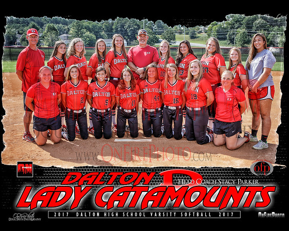 A2 - DALTON SOFTBALL TEAM PHOTO 2017