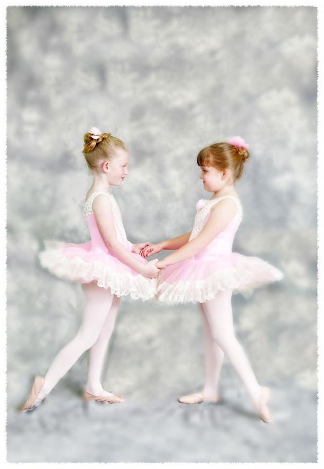 two ballarinas