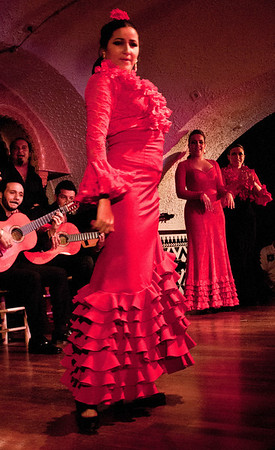 Flamenco & Barcelona Spain