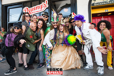 Venice Beach Mardi Gras After Party at Danny's.  www.DannysVenice.com.  Photo by VenicePaparazzi.com