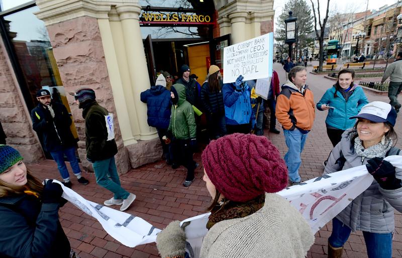 DAPL Protest in Boulder