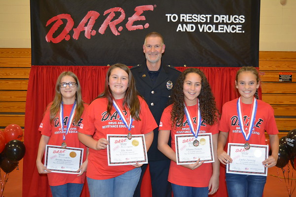 DARE Graduation Fall 2017