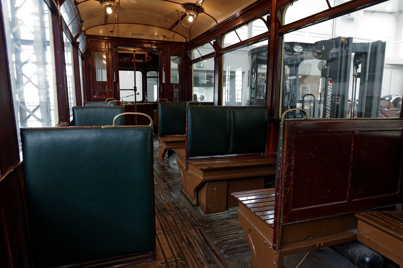 Dortmund tram c.1930, passenger compartment