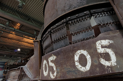 Steel hall detail