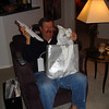 DAVE GETS A SMALL MAC COMPUTER FROM CRAIG...YIPPEE!