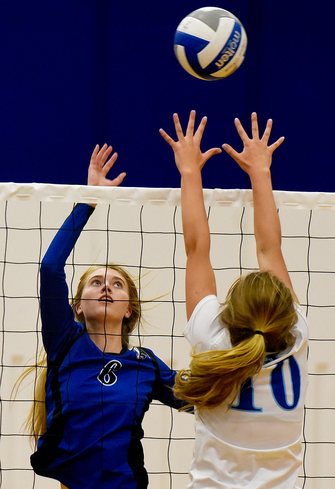 Lyons vs. Dawson Volleyball