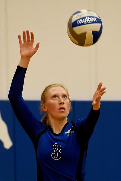 Lyons vs. Dawson Volleyball