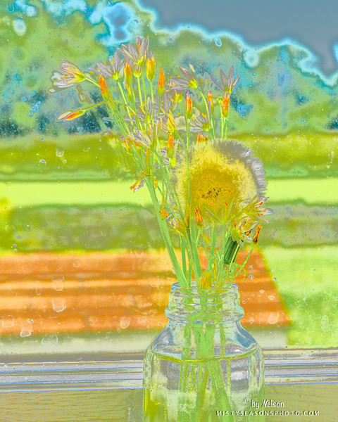 Grammy's Flower Jar
