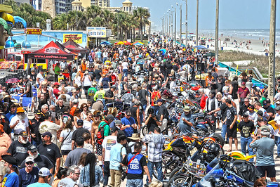 2016 DAYTONA BIKEWEEK BOARDWALK BIKE SHOW