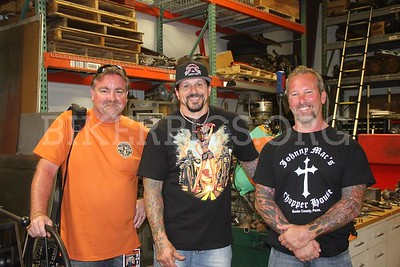 BIKEWEEK 2016 WITH BILLY LANE AT HIS SHOP