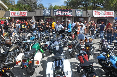 WILLIES OLD SCHOOL CHOPPER SHOW, DAYTONA BIKEWEEK 2015