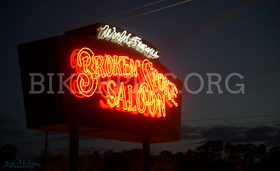 WONDERFUL LIGHTS OF THE BROKEN SPOKE, DAYTONA BIKEWEEK 2020