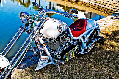 Miami Dolphins Bourget Motorcycle Daytona Bike Week - Friday March 6,  2009