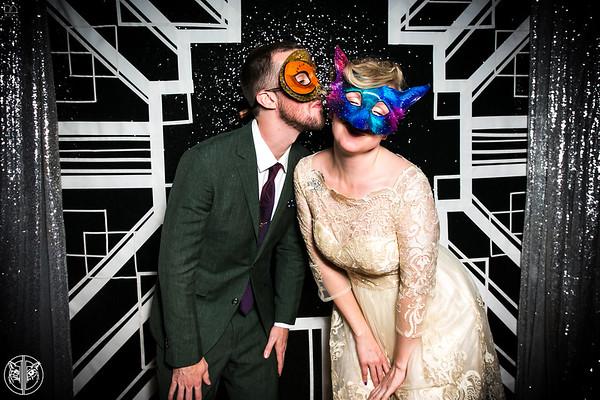 Caitlin & Derek's Masquerade Wedding