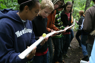 """DODGEVILLE, WISCONSIN: DiscoveryBound regional event hosted by the Madison University of Wisconsin Student Foundation Center for Middle and High School students. Friday - """"How to talk about Christian Science to non Christian Scientists""""; Saturday - Ropes Course at Bethel Horizons; Sunday - Church/Sunday School, Soccer game & CS lecture on a Spritual Aproach to Health Care."""