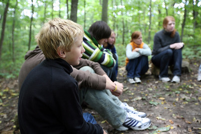 DODGEVILLE, WISCONSIN: Discussing what went well. More photos available at  http://discoverybound.org