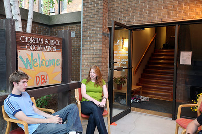 MADISON, WISCONSIN: The welcome committee! More photos available at  http://discoverybound.org