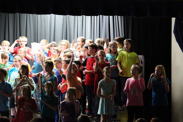 Daisy Brook - 4/22/2014 4th Grade Spring Concert